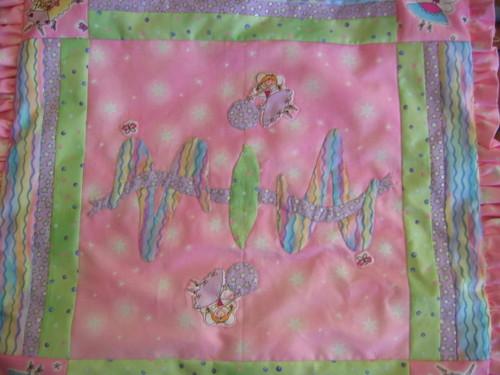Mia's Ambigram cushion